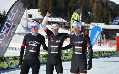 Im Ziel: Santa Caterina Winter Trail